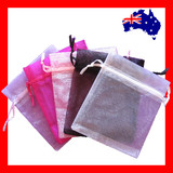 200 Organza Bag Jewellery Gift Pouch-10​x12cm | SUPER DEAL