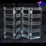New Earring Display Stand Holder-Clear Acrylic-4 Fold