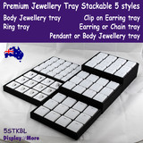 Jewellery Tray Professional Display STACKABLE | 5 Styles