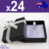 24X Pendant Chain Necklace Gift Box-7x8cm | PREMIUM Quality