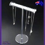 Necklace Stand CHAIN Holder Clear ACRYLIC | Stylish NEW Design