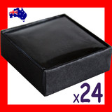 24X Brooch Stud Earring Gift Box-5.5x5.5cm-Window | NEW