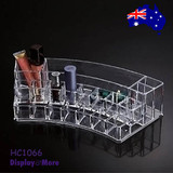 Cosmetic Holder MAKEUP Beauty Display | CLEAR Acrylic